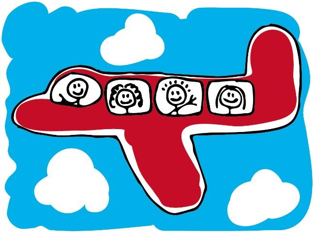 Guía para volar con niños   Viajes con Mowgli   Ocholeguas
