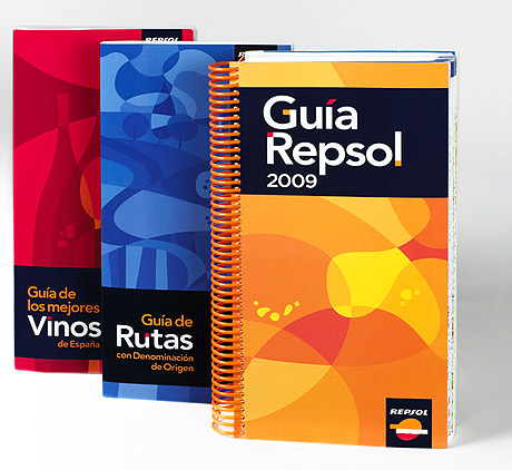 El 'pack' de las tres Gu�as Repsol.