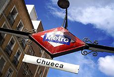 Metro de Chueca.