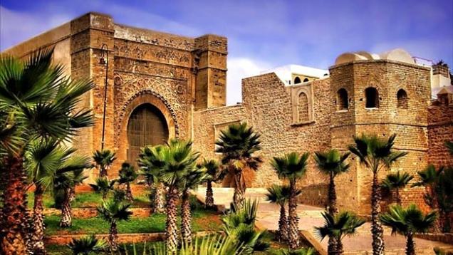 La Kasbah de los Oudayas en Rabat.
