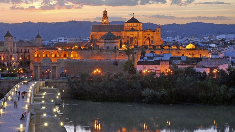 La ribera de c rdoba espana ocholeguas - Mezquita de cordoba de noche ...
