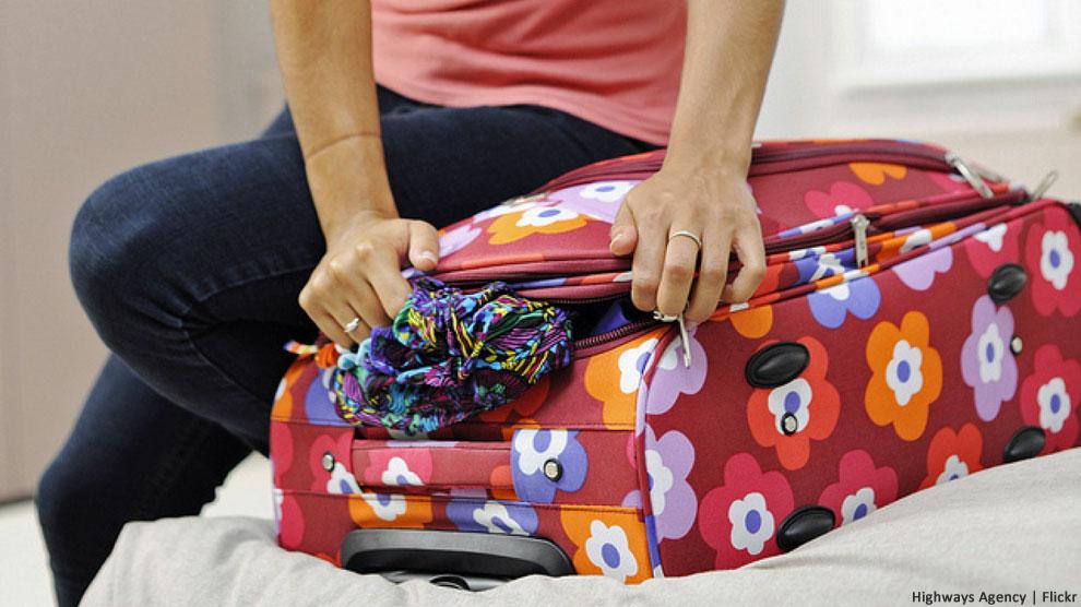 ¿Puede un smartphone ayudarle a preparar su equipaje?
