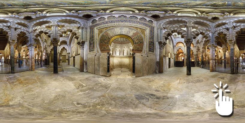 La mezquita de c rdoba vista como nunca antes espana for Interior mezquita de cordoba