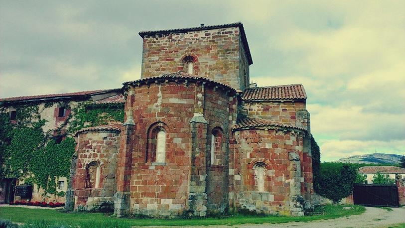 El ábside de Santa María de Mave.