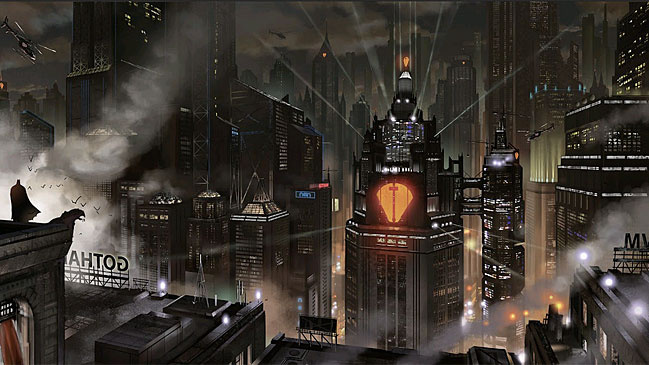 Gotham City es la ciudad de ficci�n donde transcurren las aventuras del superh�roe Batman (DC Comics).