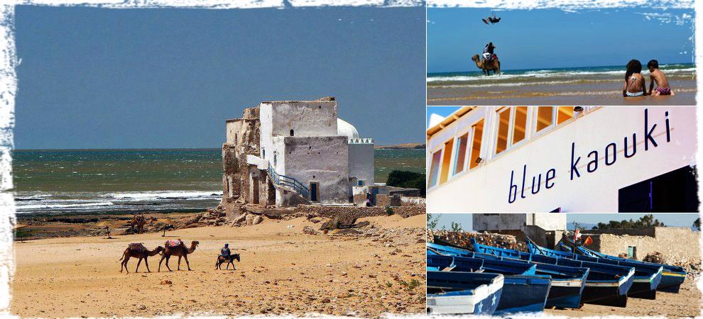 El pueblo bereber de Sidi Kaouki, situado en pleno océano Atlántico, es el destino marroquí perfecto para surferos y bohemios.