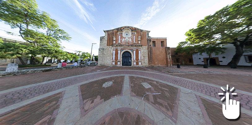 Pinche sobre la imagen para desplegar la panorámica completa y acceder a otras imágenes en 360 grados de Santo Domingo.