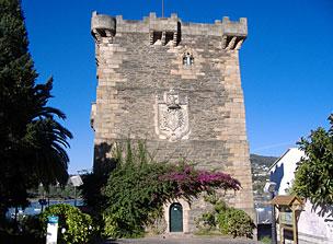 Vistas del Castillo de Andrade.
