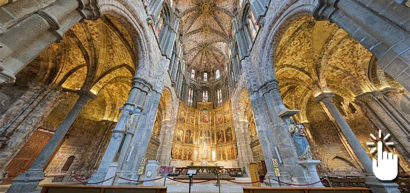 Pinche sobre la imagen para desplegar la panorámica completa y acceder a otras imágenes en 360 grados de Ávila.