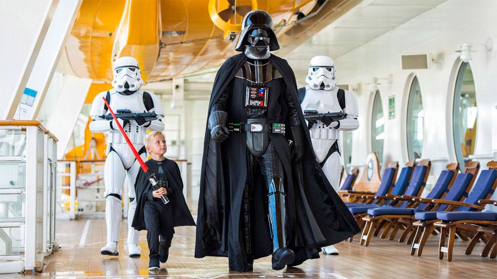 A partir de 2016, los personajes de la 'Guerra de las Galaxias' formarán parte de la tripulación.