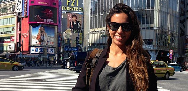 Melissa Jim�nez en Tokio y Nueva York.