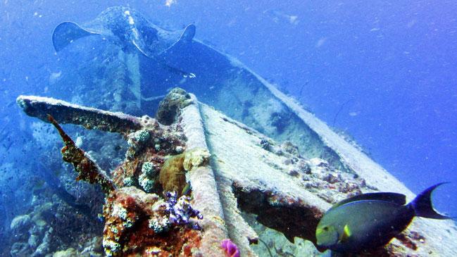 La costa australiana de Townsville vio naufragar al SS Yongala el 23 de marzo de 1911.