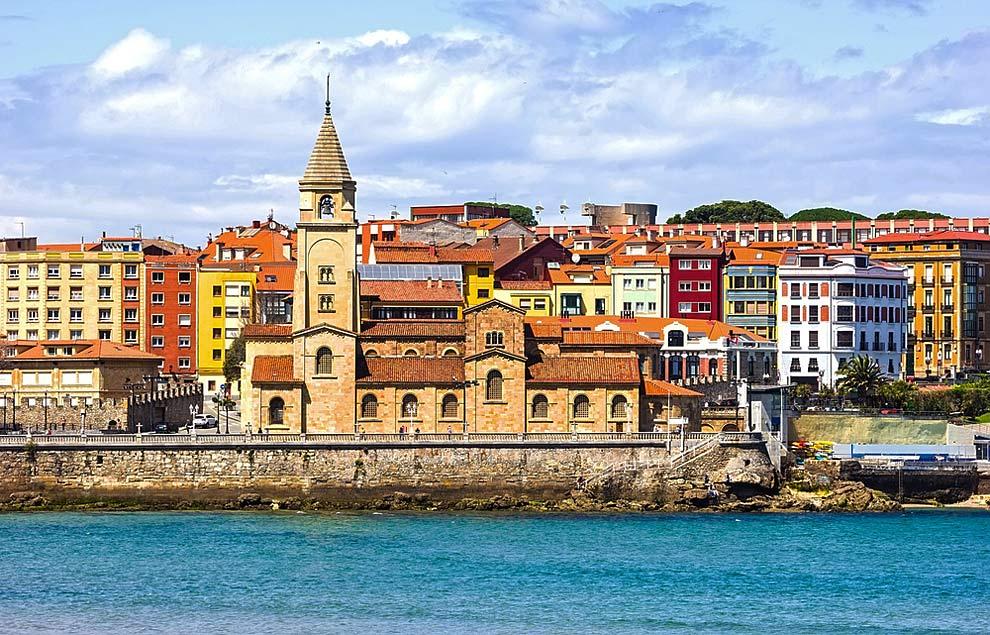 Gij n la llave de asturias espana ocholeguas - Fotos sporting de gijon ...