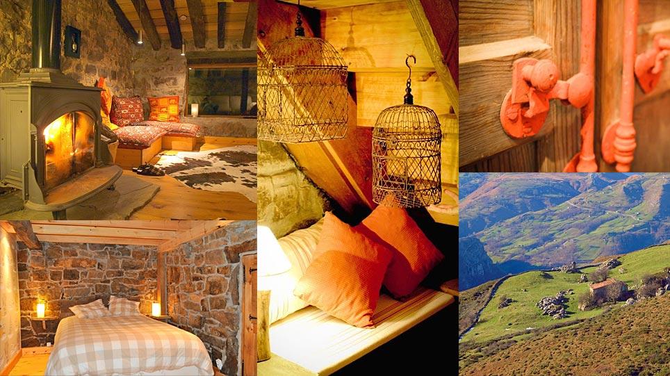 Tranquilidad en los valles pasiegos que rodean las Cabañas con Encanto, alojamiento rural cuidado al detalle.