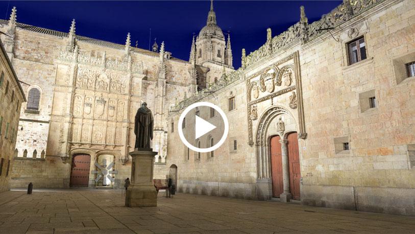 Pinche sobre la imagen para desplegar la panorámica completa y acceder a otras imágenes en 360 grados de la ciudad del Tormes.