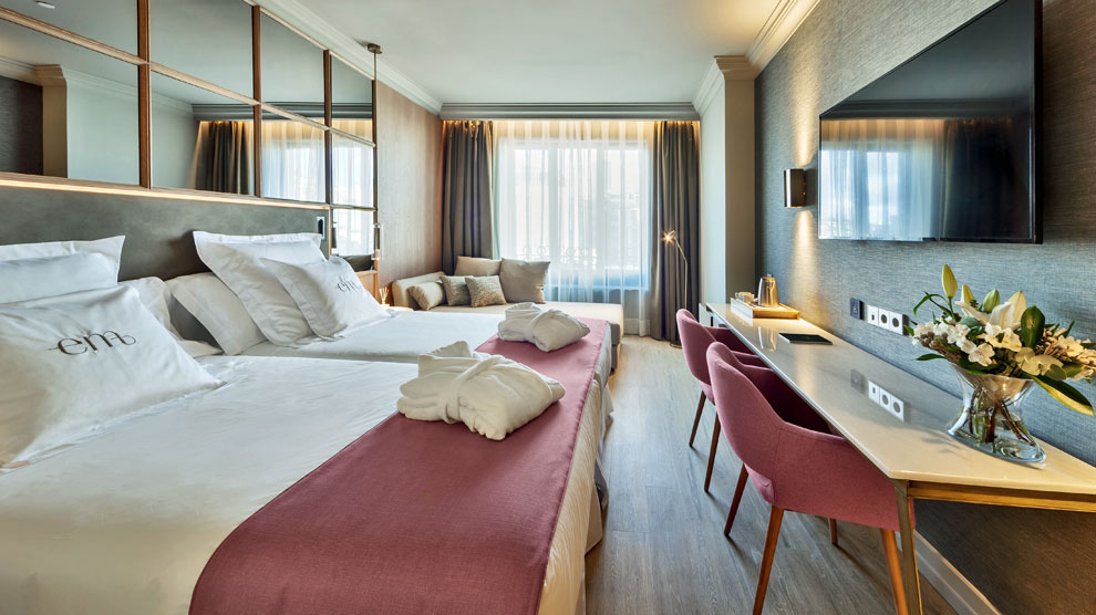 As es un hotel dise ado por los hu spedes hoteles ocholeguas - Hoteles barcelo en madrid ...