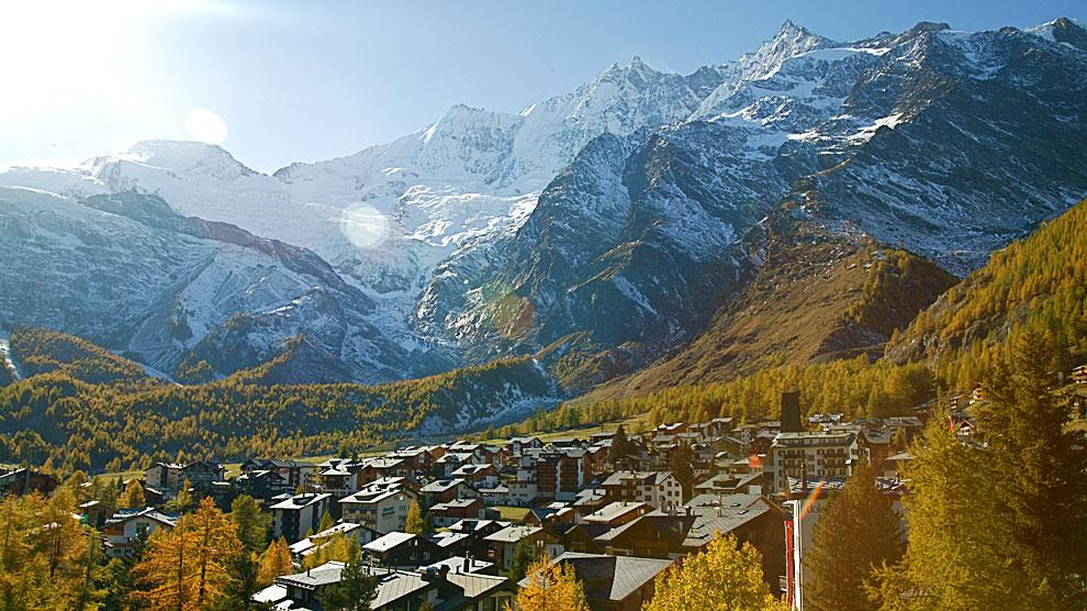 Los alpes suizos con acento espa ol europa ocholeguas - Casas en los alpes suizos ...