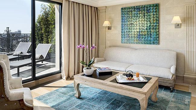 La suite m�s grande de Barcelona est� en el Majestic Hotel & Spa, situado en pleno Paseo de Gracia.