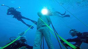 Primer museo submarino en Europa del artista Jason DeCaires.