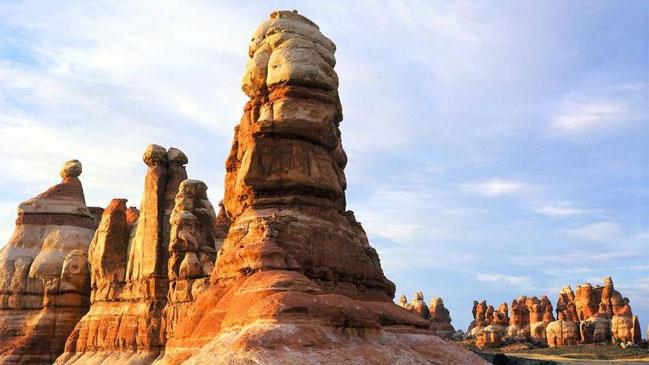 El Parque Nacional de Arches.