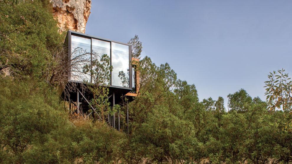 El primer hotel paisaje de espa a hoteles ocholeguas for Hoteles interior alicante