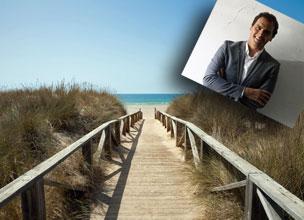 Las playas de C�diz, el destino en el que suele veranear Albert Rivera.