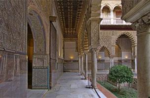 El Real Alc�zar de Sevilla.