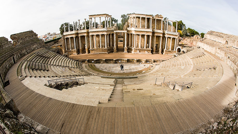 las amazonas teatro romano de mérida mérida españa