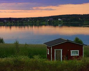 Panor�mica laber�ntica del Lago Saimaa, el m�s extenso de Finlandia.