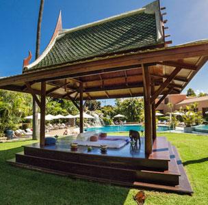 The Oriental Spa Garden est� inspirado en la hospitalidad y el esplendor asi�tico.