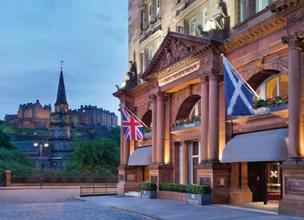 Castillo de Edimburgo, la estampa emblemática de la ciudad.