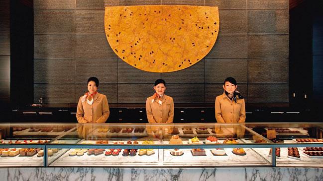 La naturaleza se cuela por cada estancia del Mandarin Oriental de Tokio.