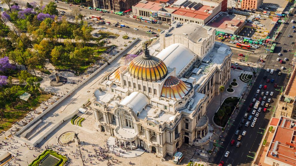 Museo del Palacio de Bellas Artes, inaugurado en 1934 como el primer museo de arte del país. Foto: Jess Kraft.