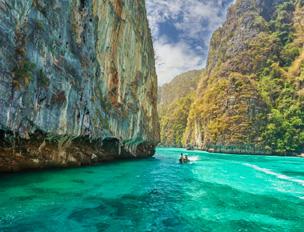 Isla Phi-Phi en la provincia de Krabi, Tailandia. Foto: Shutterstock.