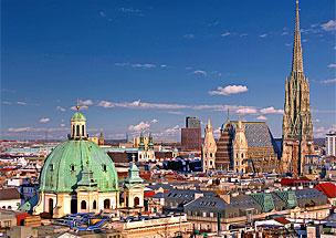 Palacio Imperial de Hofburg, el m�s grande de Viena.