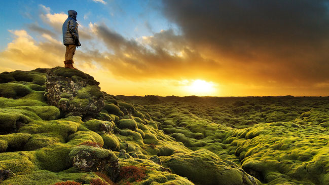 Atardecer en Eldhraun. | Foto: Shutterstock