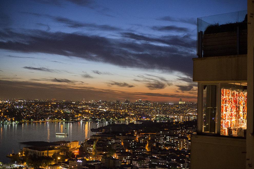 Vistas al Bósforo desde el restaurante Mikla en Estambul.