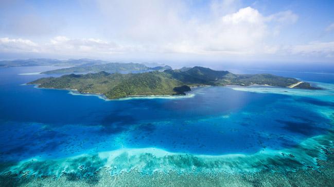 Isla de Laucala, en las islas Fiji.
