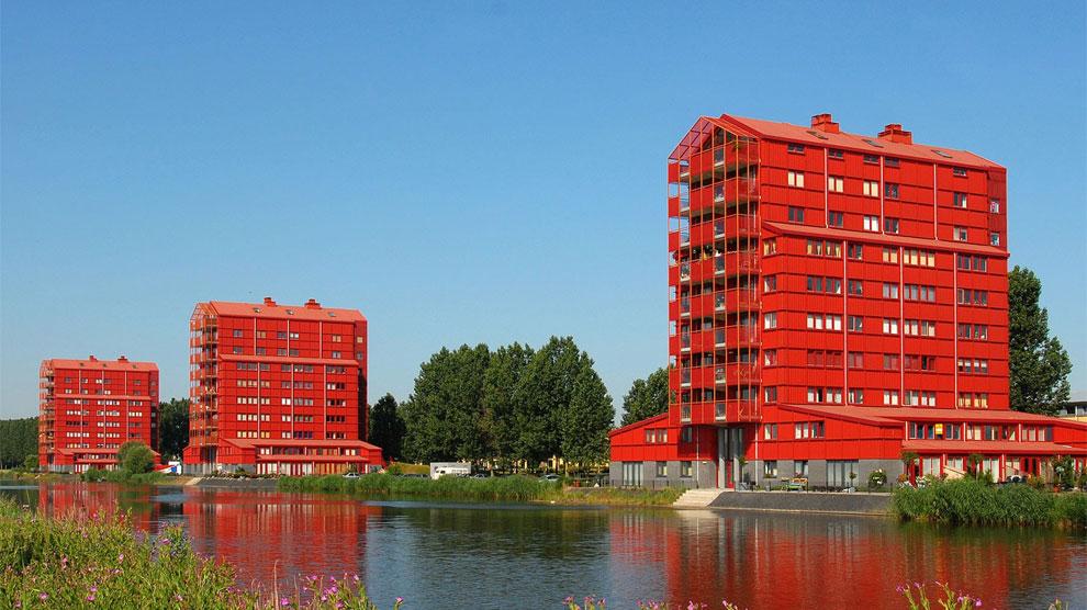 La ciudad holandesa nació de la nada hace 40 años.