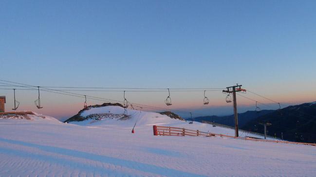Estación de esquí de Valgrande-Pajares en Asturias.