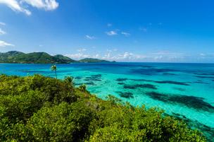 Playa El Acuario en la isla de San Andrés en Colombia. Foto: Shutterstock.