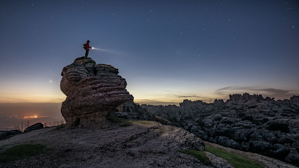 El Torcal de Antequera, una maravilla natural, declarada Patrimonio Mundial. Foto: Shutterstock.